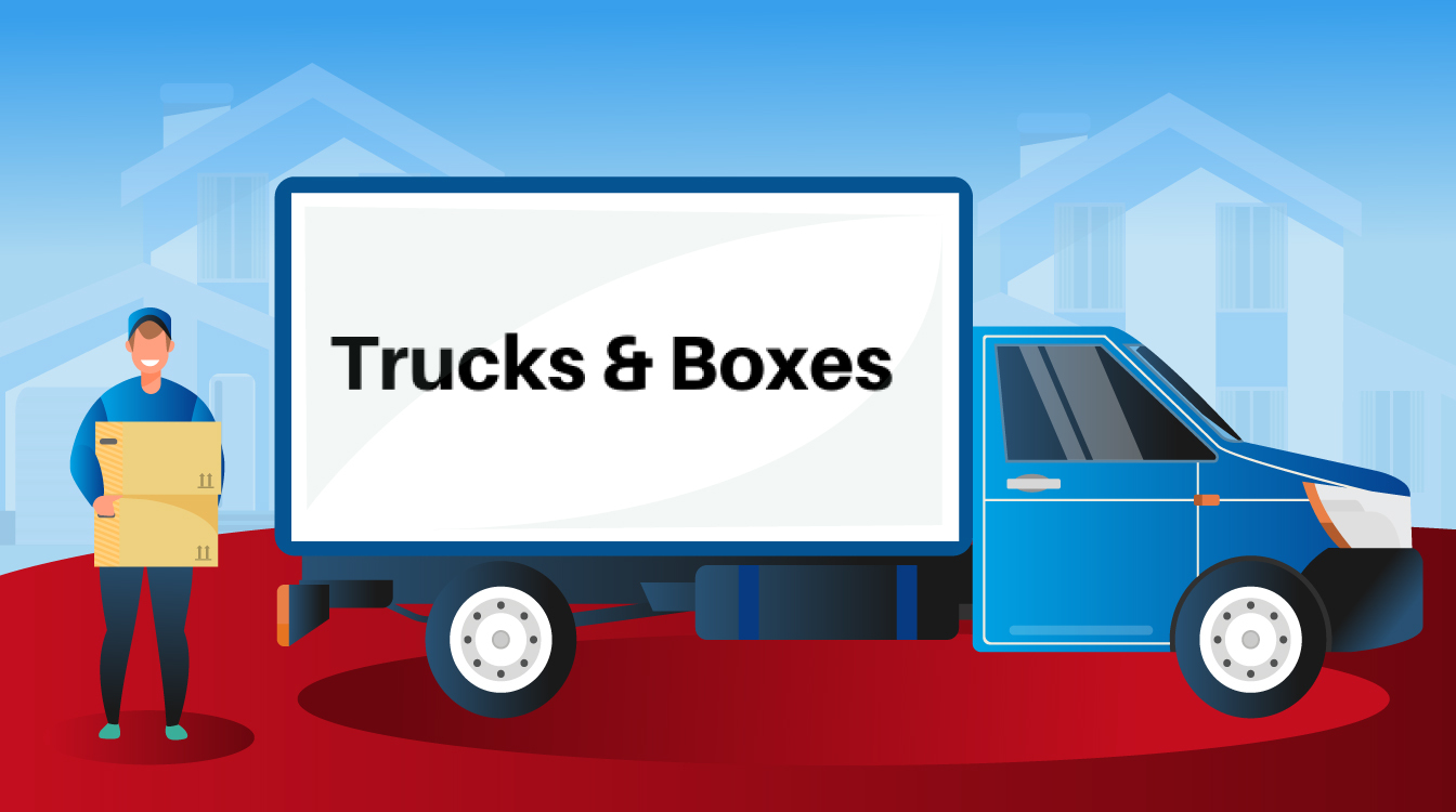 Trucks and Boxes