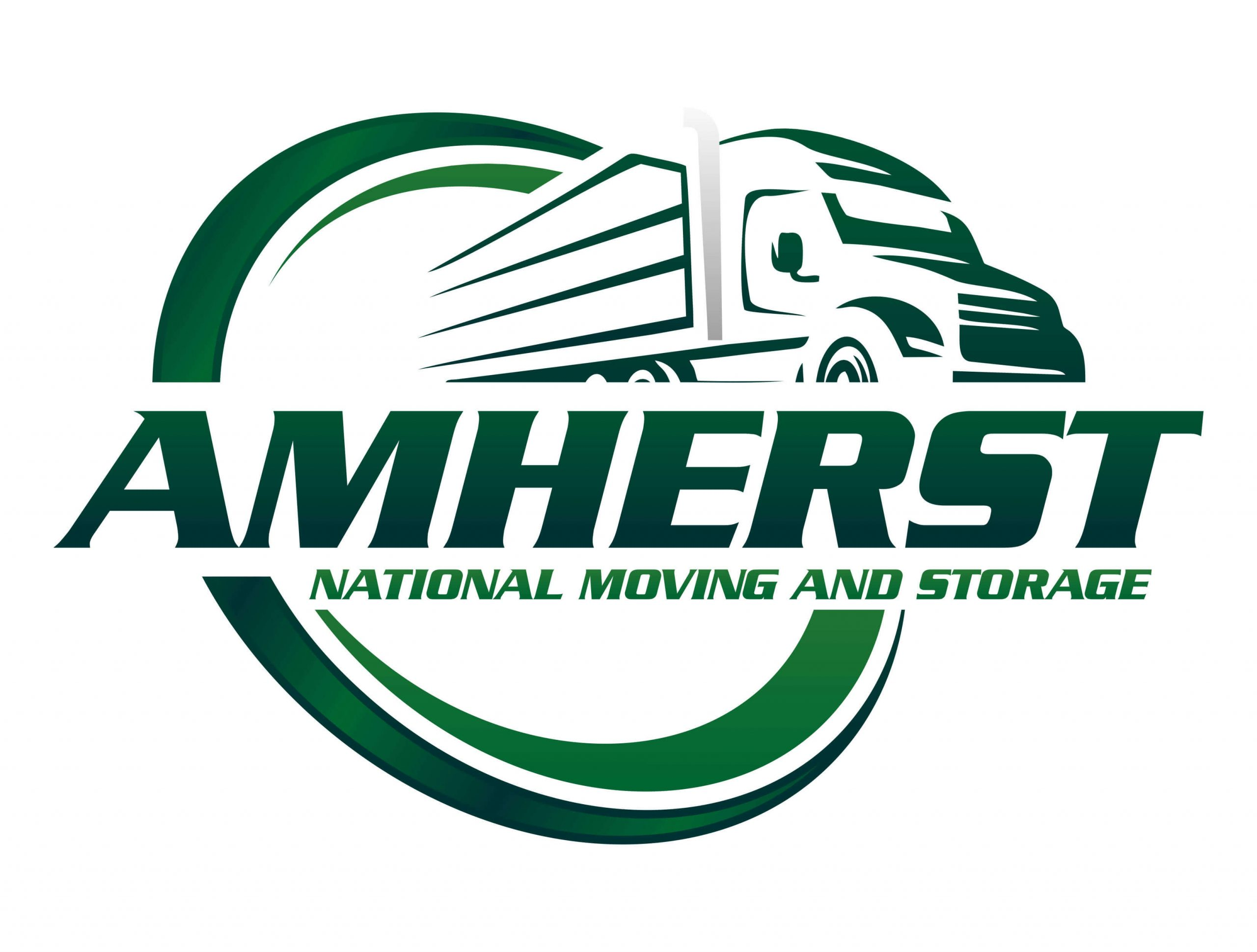 Amherst National Moving and Storage Logo